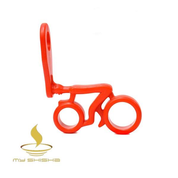 AMY DELUXE Schlauchhalter Fahrrad Rot