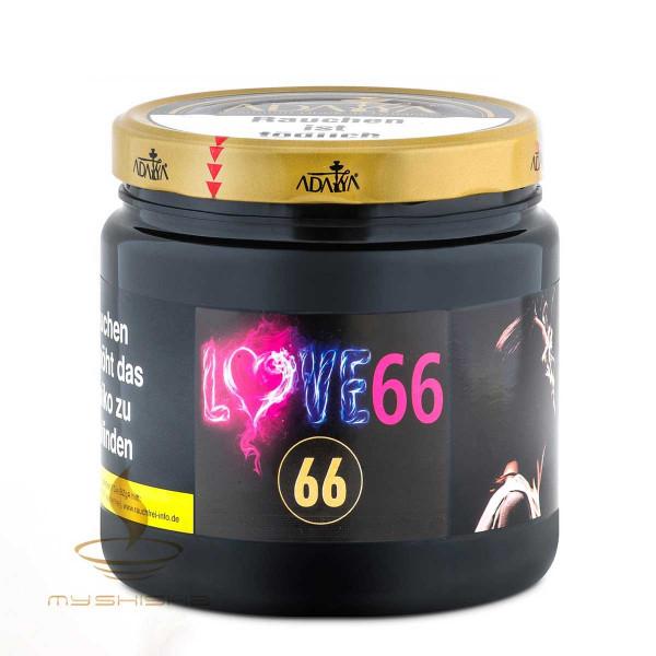 ADALYA Tabak 66 Love 66 1kg Melonenmix Minze