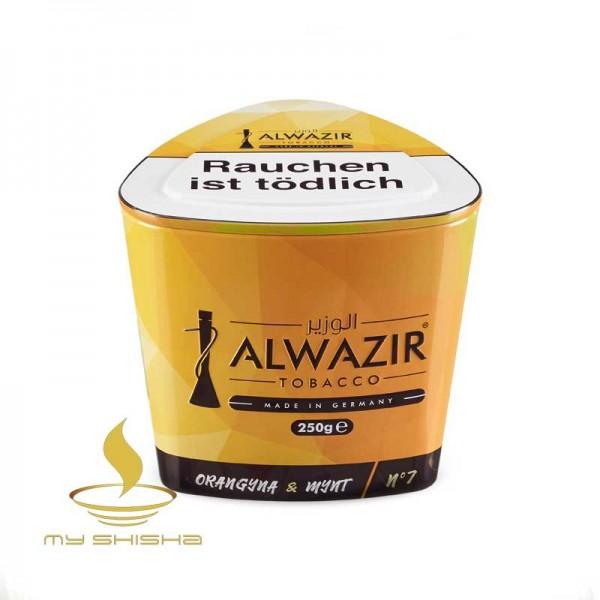 ALWAZIR TOBACCO No. 7 Orangyna 250g Orange