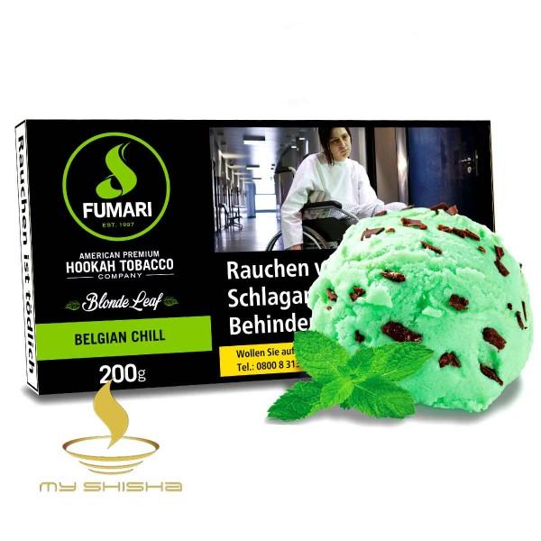 FUMARI Tabak Belgian Chill 200g Schokolade Minze