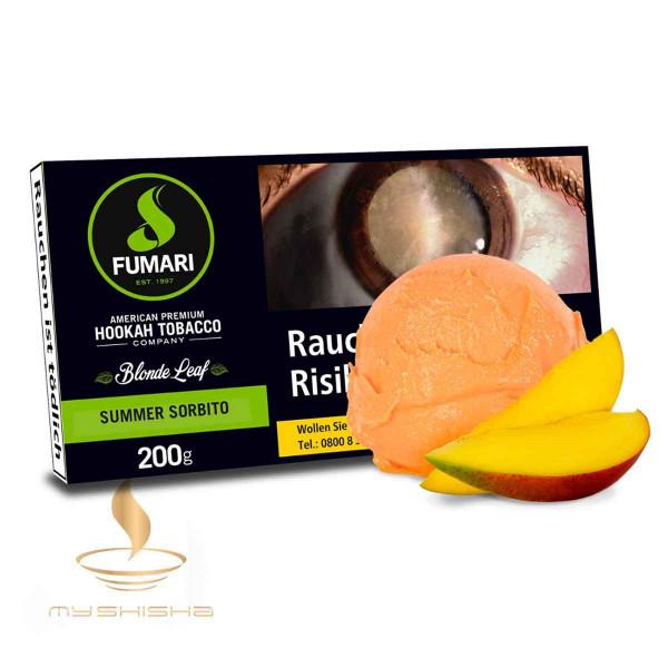 FUMARI Tabak Summer Sorbito 200g Mango Sorbet