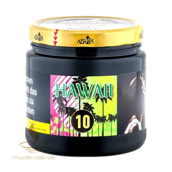 ADALYA Tobacco 10 Hawaii 1kg Ananas Mango Minze