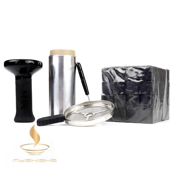 Phunnel Komplettset inkl Kohle, Auflagesieb, Alufolie und Stecher