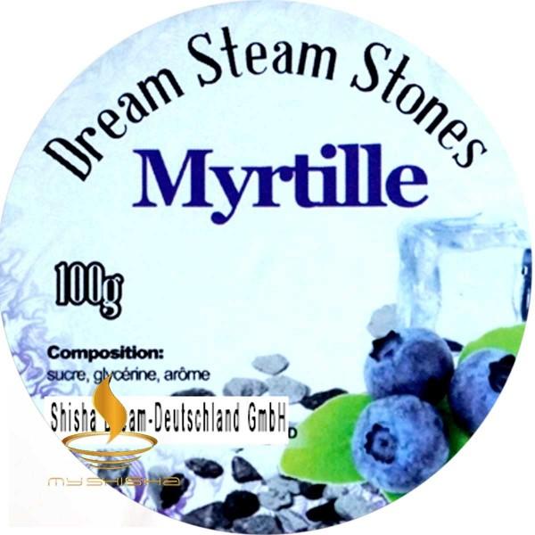 DREAM STEAM STONES Dampfsteine Myrtille 100g Blaubeere Cold Effekt
