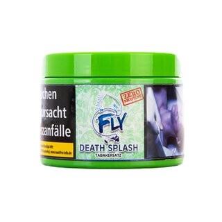 FLY Tabakersatz Death Splash Zero Nicotine 200g Tabakersatz mit starker Minze Aroma