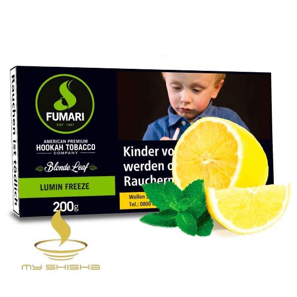 FUMARI Tabak Lumin Freeze 200g Zitrone