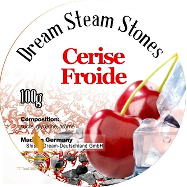 DREAM STEAM STONES Dampfsteine Cerise Froide 100g Kirsche Cold Effekt