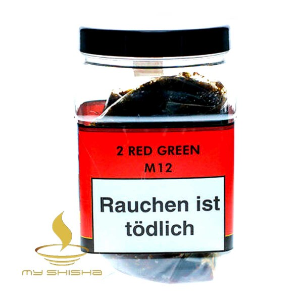 MILANO TOBACCO 2 Red Green 1kg Doppelapfel