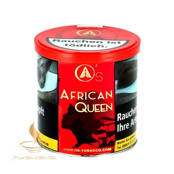 O'S TOBACCO African Queen 200g Früchtemix