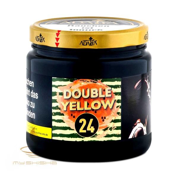 ADALYA Tobacco 24 Double Yellow 1kg Honigmelone Wassermelone