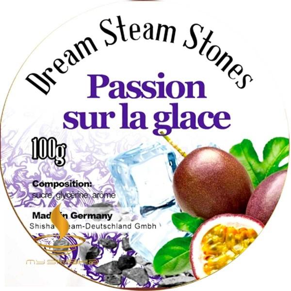 DREAM STEAM STONES Dampfsteine Passion sur la glace 100g Maracuja Cold Effekt