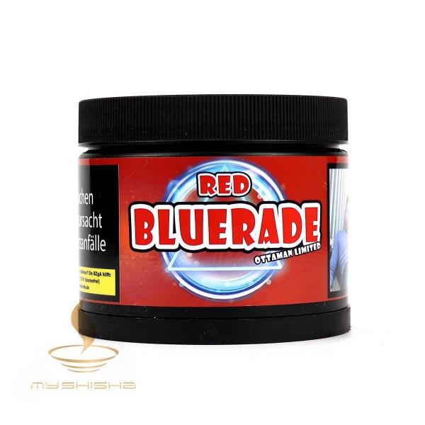 Ottaman Tabak BLUERADE RED 200g Sportgetränk Rot