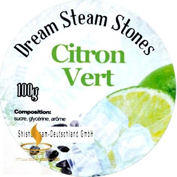 DREAM STEAM STONES Dampfsteine Citron Vert 100g Limette Cold Effekt