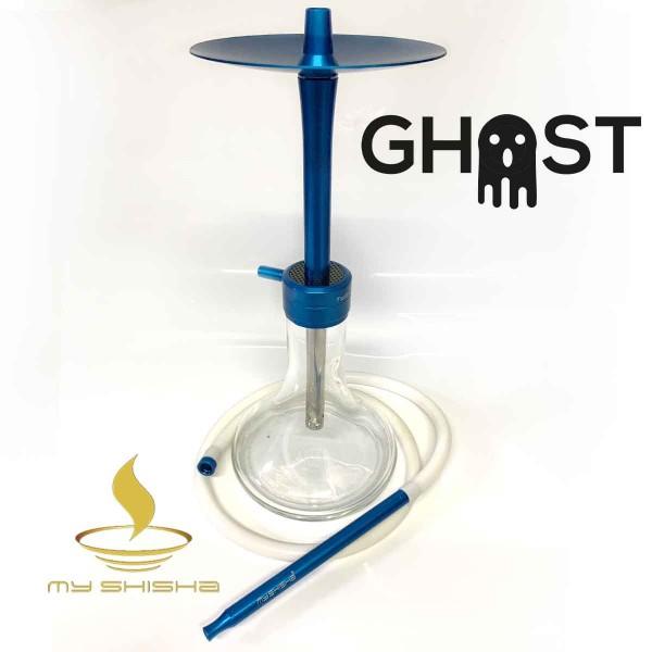 MY SHISHA Aluminium Shisha Ghost Mid Blau