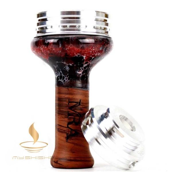 MIRA + SHISHAOFEN FlameSmoke Set inkl. MIRA Phunnel Red White Black